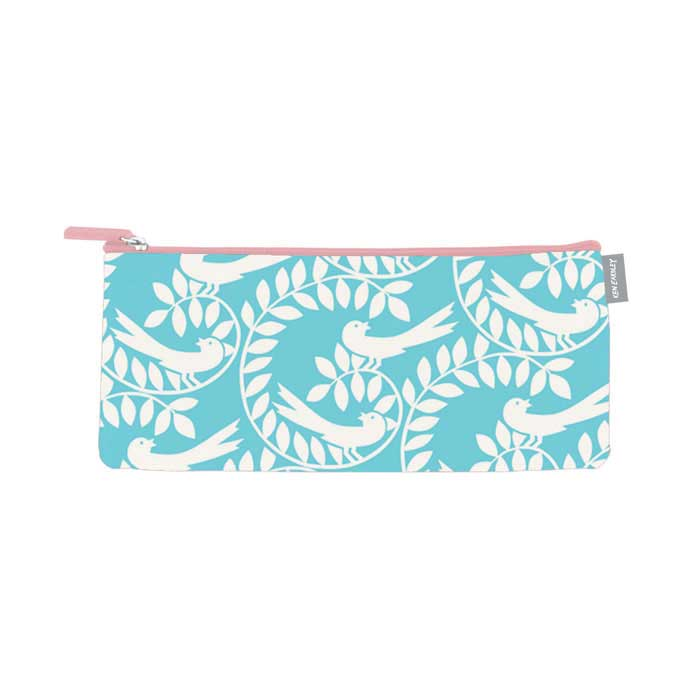 Ken Eardley Pencil Case Ava Design Aqua Sparkle Gift