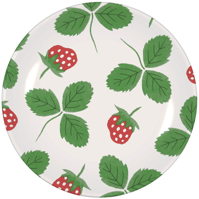 Strawberry Side Plate Hinchcliffe & Barber Pack 6            Sparkle Gift