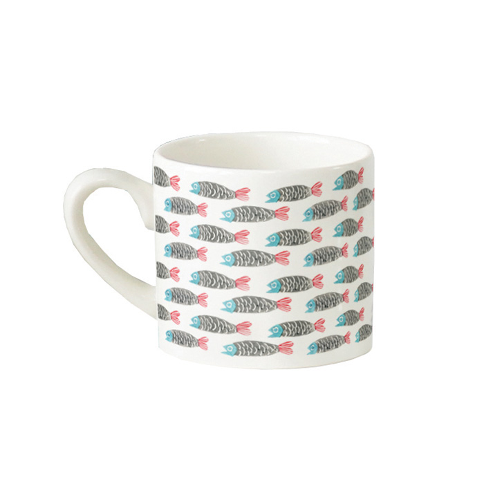 Paper Fish Repeat Mug Hinchcliffe & Barber Pack 6            Sparkle Gift