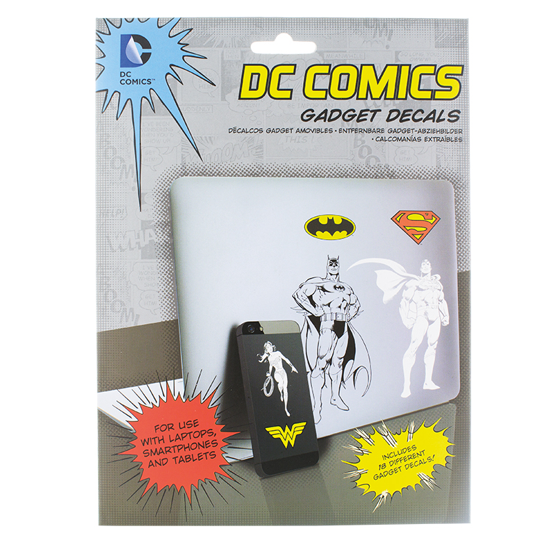 Dc Comics Gadget Decals Sparkle Gift