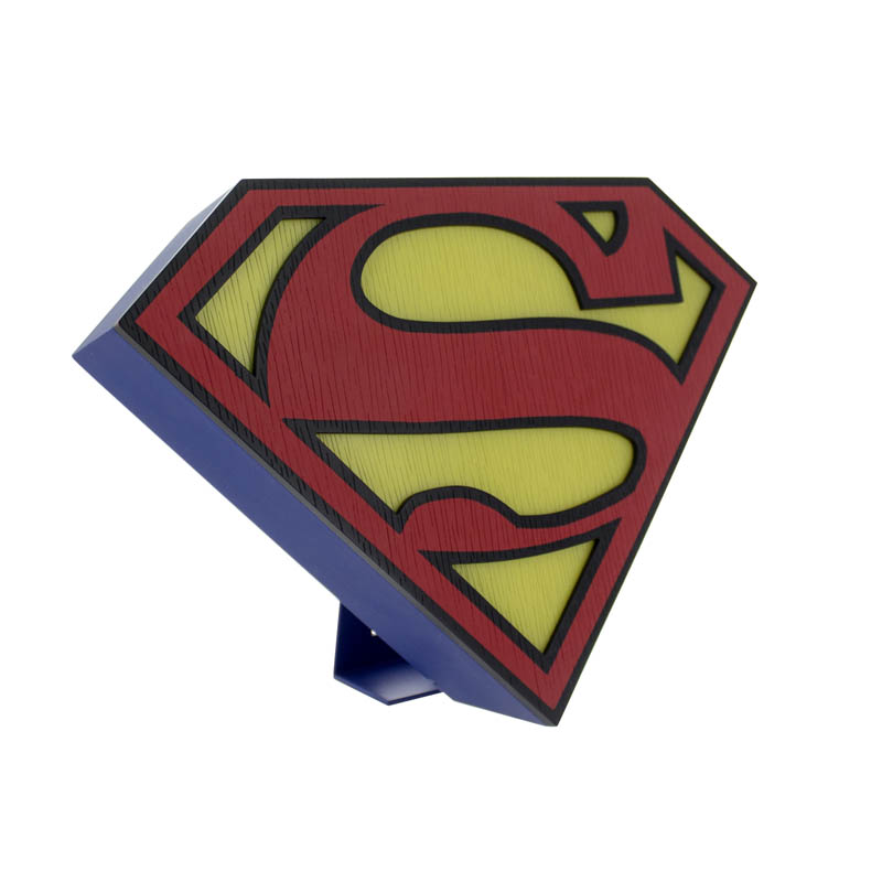 Superman Logo Light Sparkle Gift