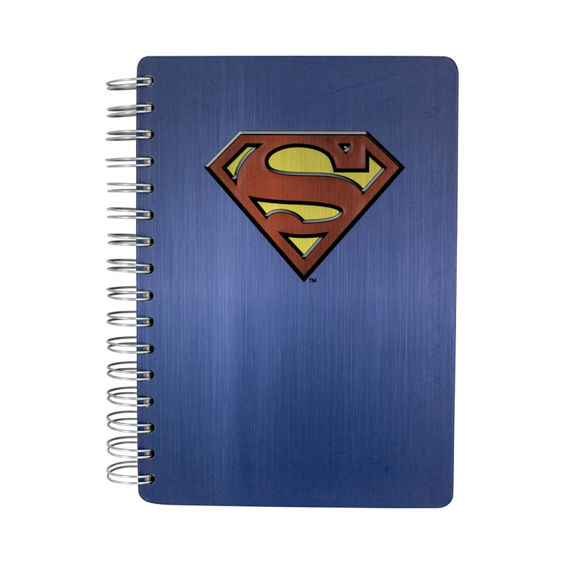 Superman Notebook Embossed Sparkle Gift