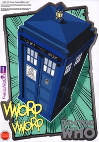 Doctor Who 2 Comic Strip Wall Sticker Tardis Singl Sparkle Gift