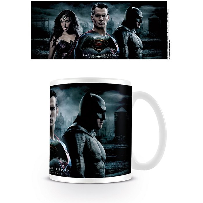Batman V Superman Boxed Mug Trio Sparkle Gift