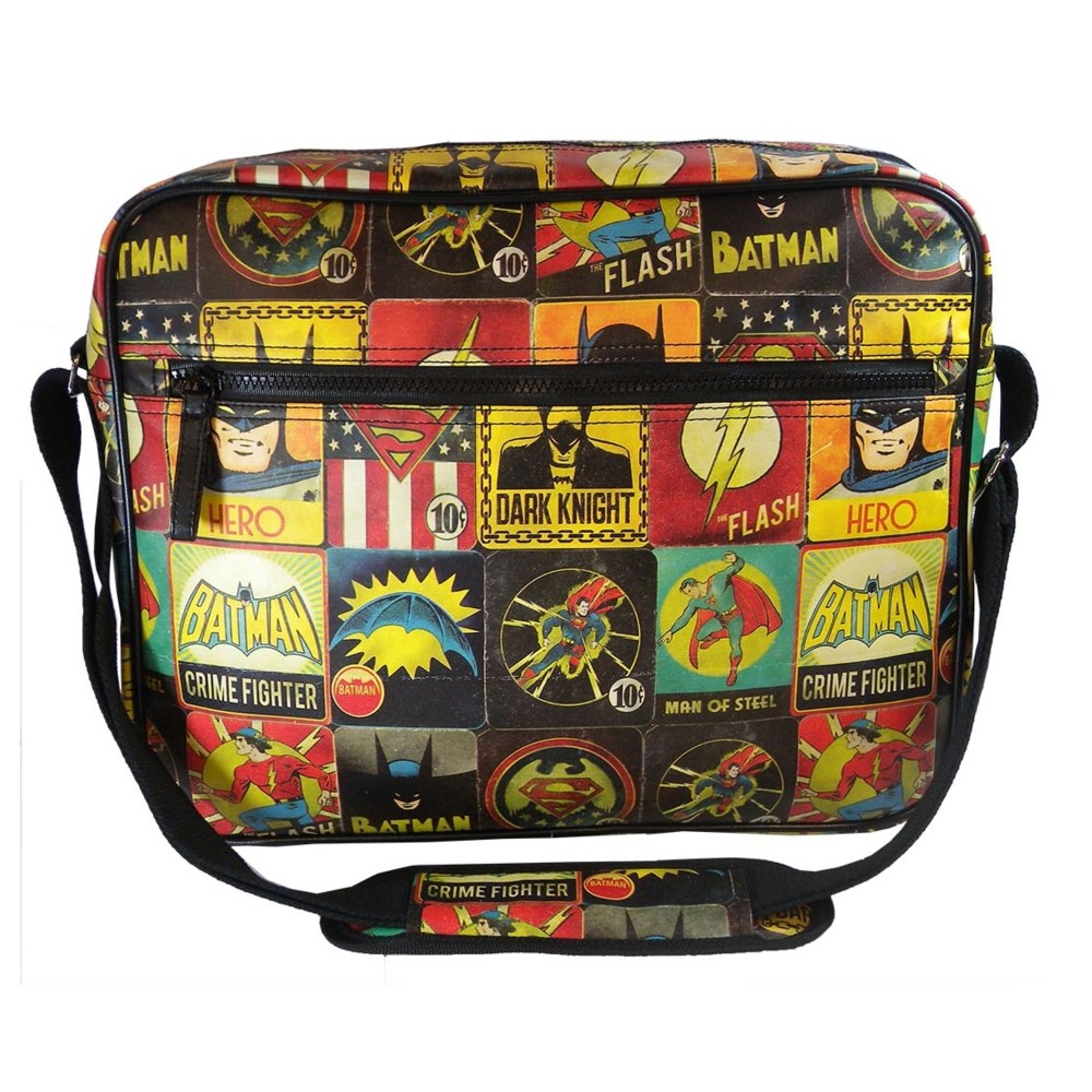 Dc Comics Messenger Bag Vintage Sparkle Gift