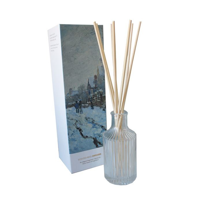 National Gallery Diffuser Snow Scene Sparkle Gift