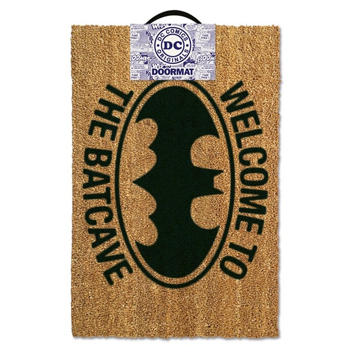 Batman Doormat Welcome To The Batcave Sparkle Gift