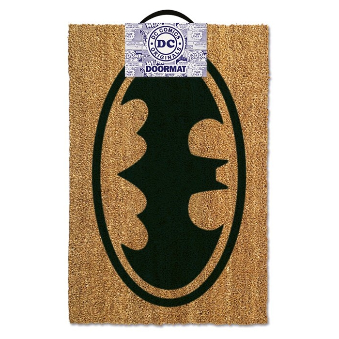 Batman Doormat Logo Sparkle Gift