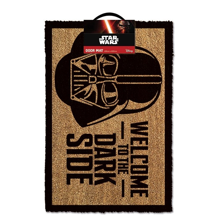 Star Wars Doormat Welcome To The Dark Side Sparkle Gift