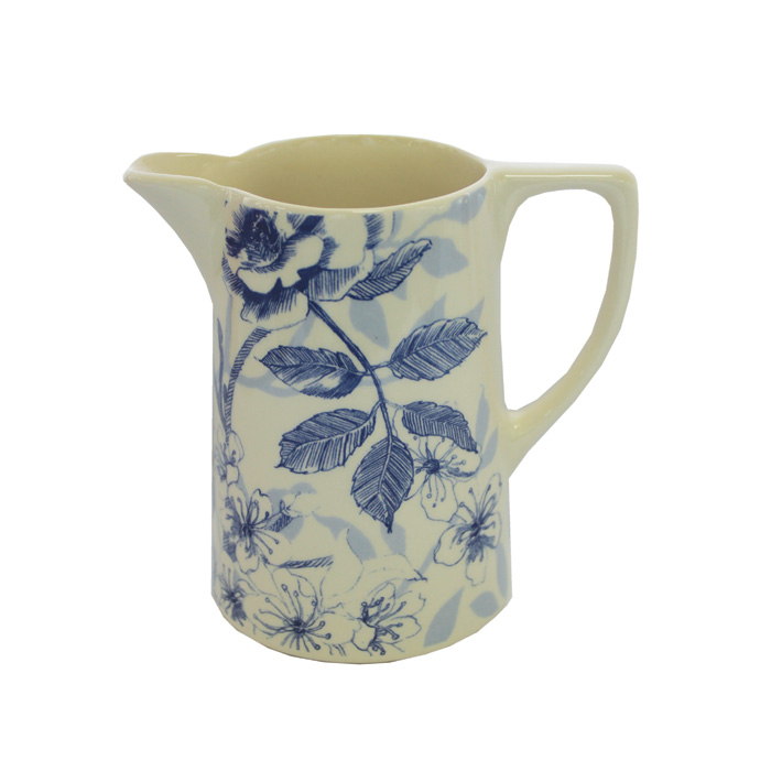 Blue Bird Toile Small Jug Edward Challinor Pack 6 Sparkle Gift