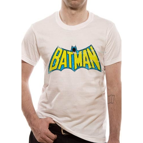 Batman T Shirt Retro Logo Mens Medium Sparkle Gift