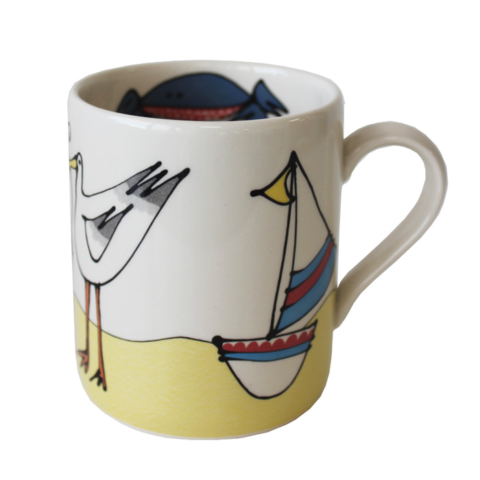Gallery Thea Mug Seaside Pack 6 Sparkle Gift