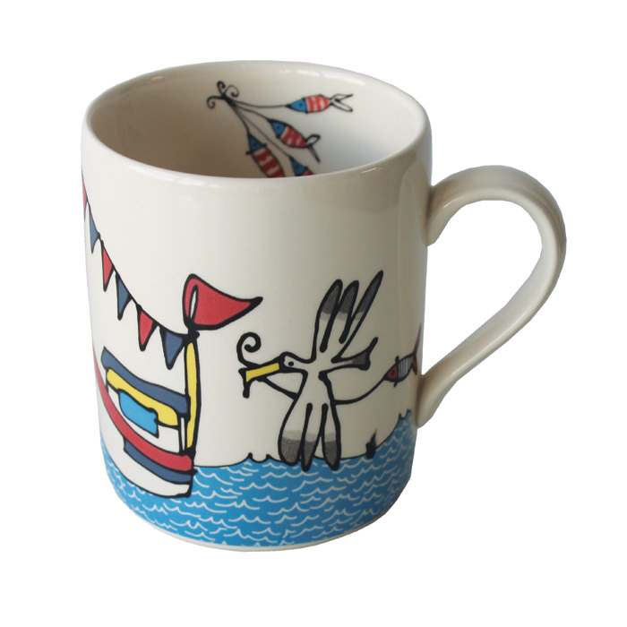 Gallery Thea Mug Gone Fishing Pack 6 Sparkle Gift