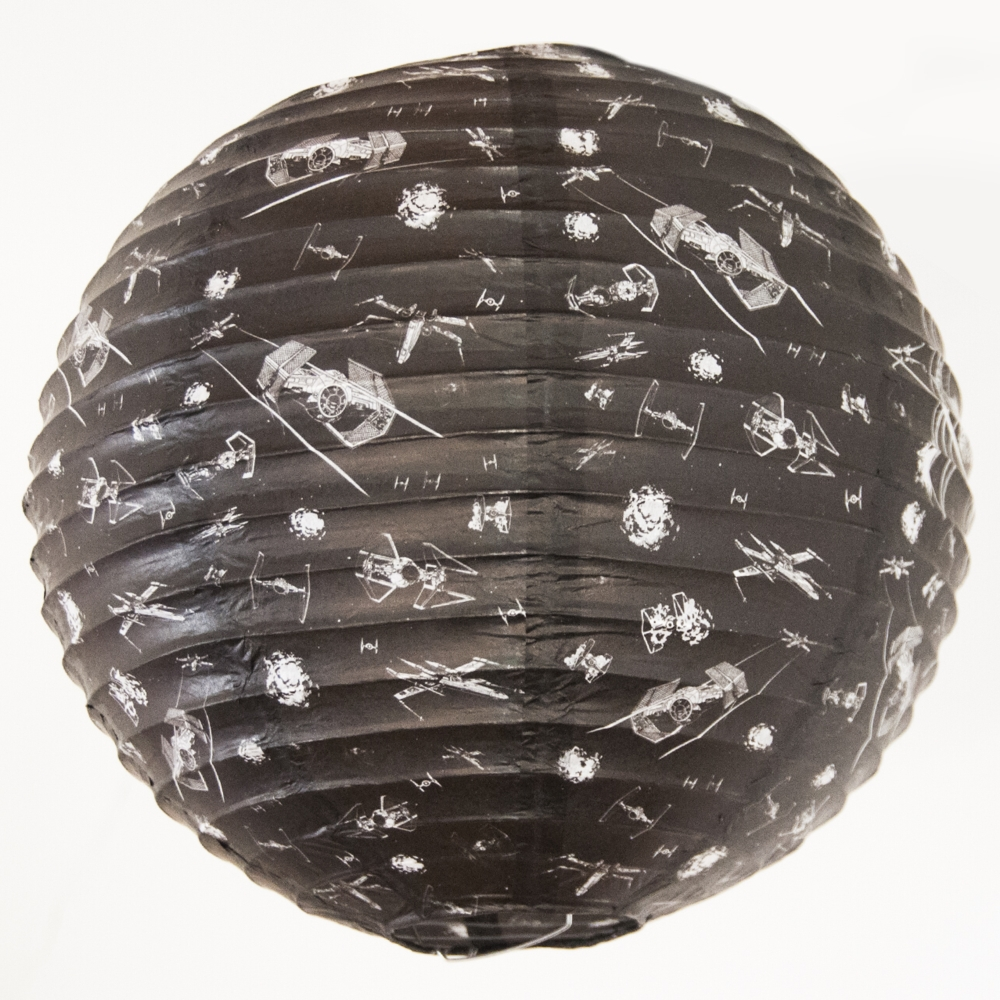 Star Wars Light Shade X-wing V Tie Fighter Sparkle Gift