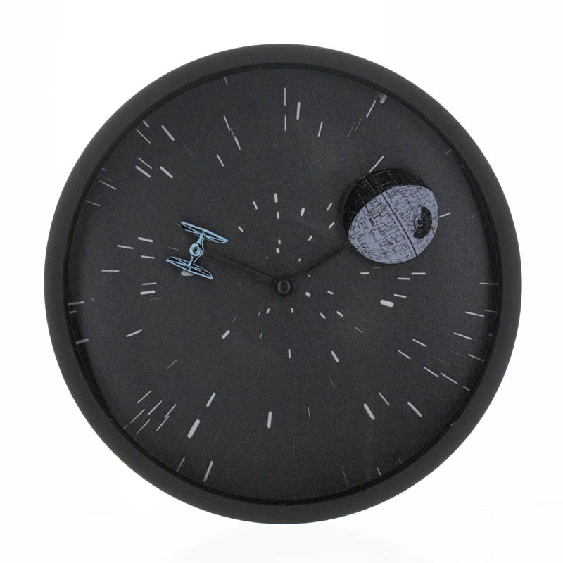Star Wars Lenticular Wall Clock Sparkle Gift