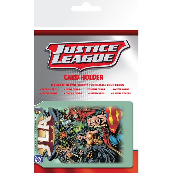 Dc Comics Card Holder Justice League Sparkle Gift