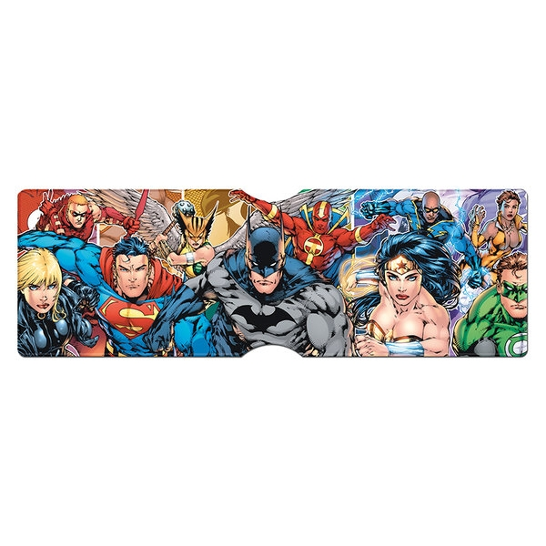 Dc Comics Card Holder Justice League Group Sparkle Gift