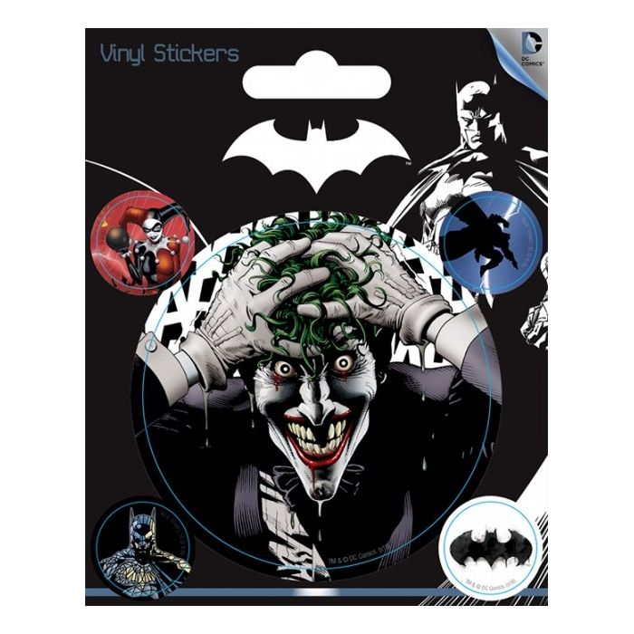 Batman Stickers Joker Sparkle Gift