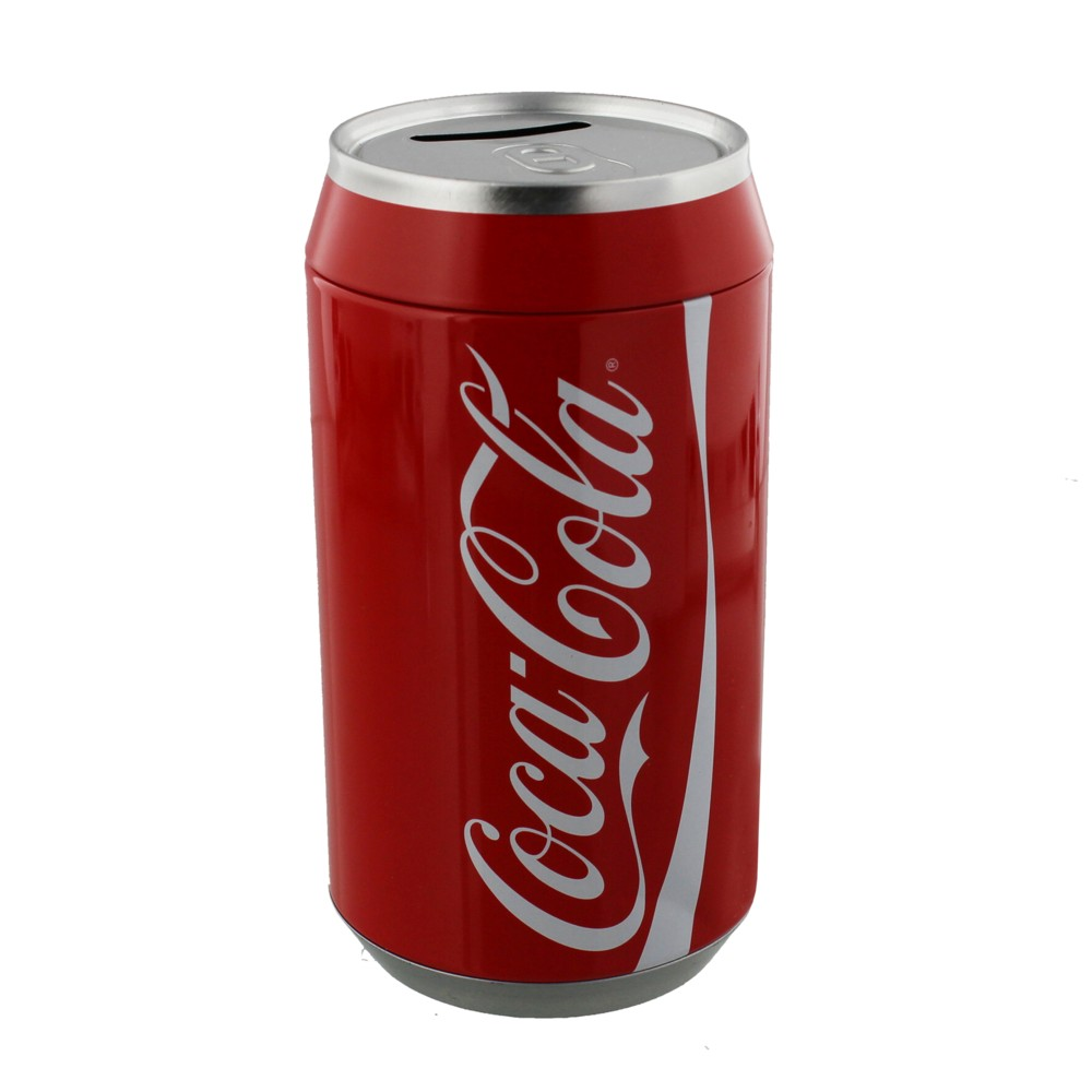 Coca-cola Metal Money Box Sparkle Gift