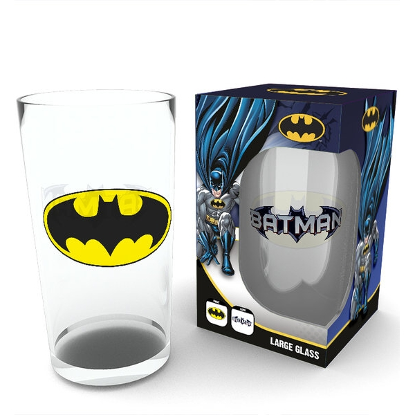 Batman Large Glass Logo Sparkle Gift
