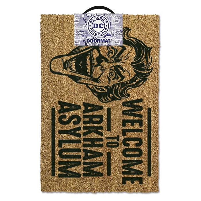 Batman Doormat Welcome To Arkham Asylum Sparkle Gift
