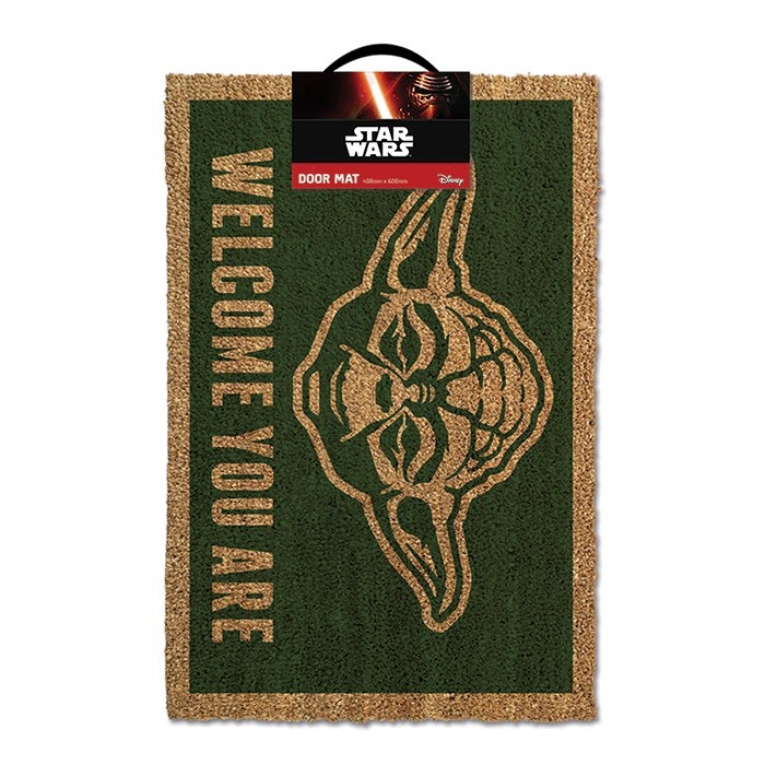 Star Wars Doormat Welcome You Are Sparkle Gift