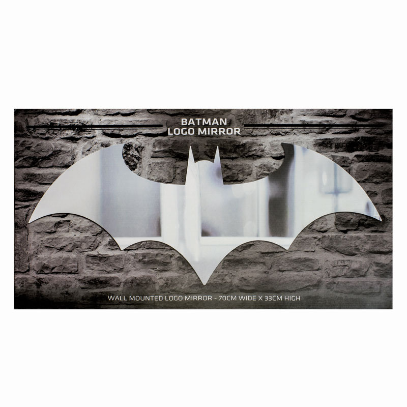 Batman Logo Mirror Sparkle Gift