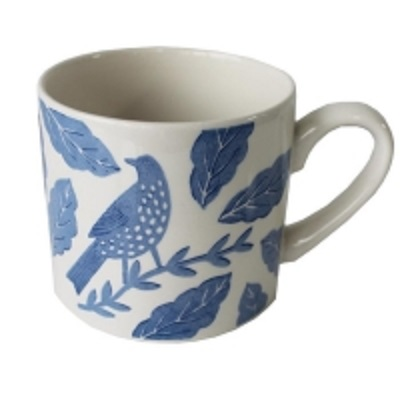 Songbird Blue Mug Hinchcliffe and Barber Single              Sparkle Gift