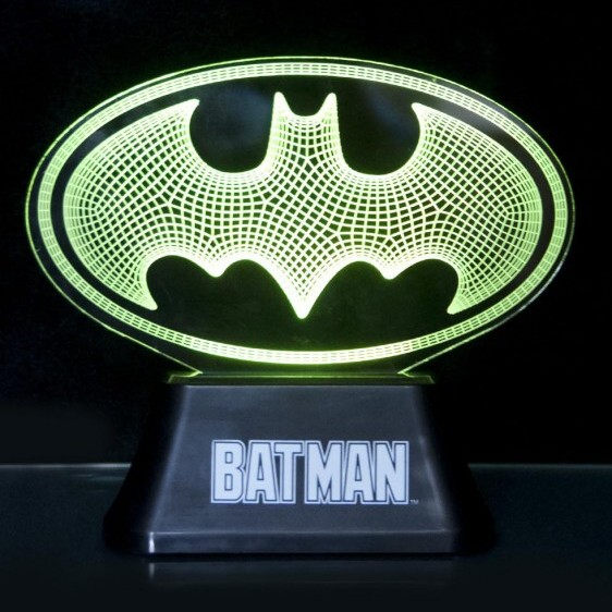 Batman Acrylic Light Logo Sparkle Gift