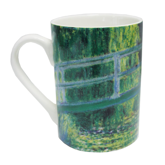 National Gallery Mug Monet The Water-lily Pond X6 Sparkle Gift