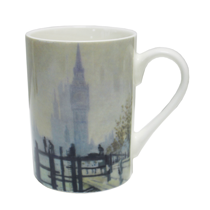National Gallery Mug Monet Thames Westminster X6 Sparkle Gift