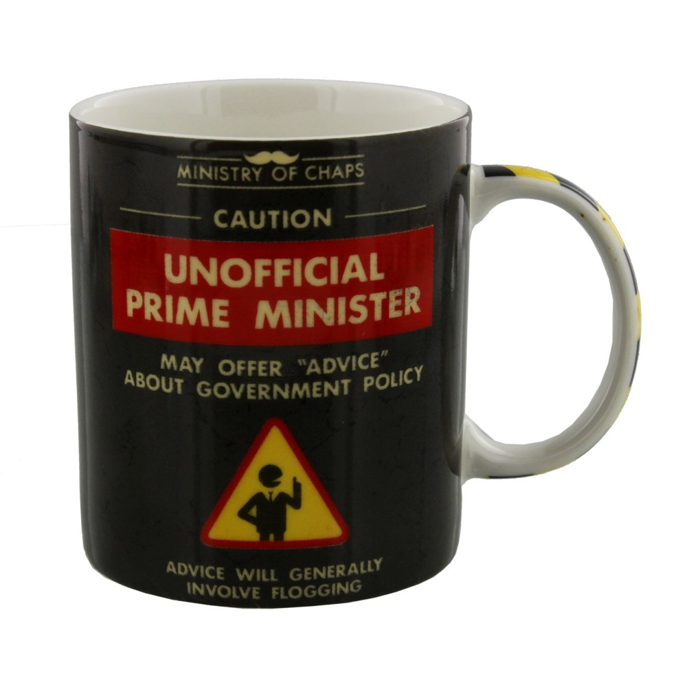 Ministry of Chaps Boxed Mug Unofficial Pm Sparkle Gift