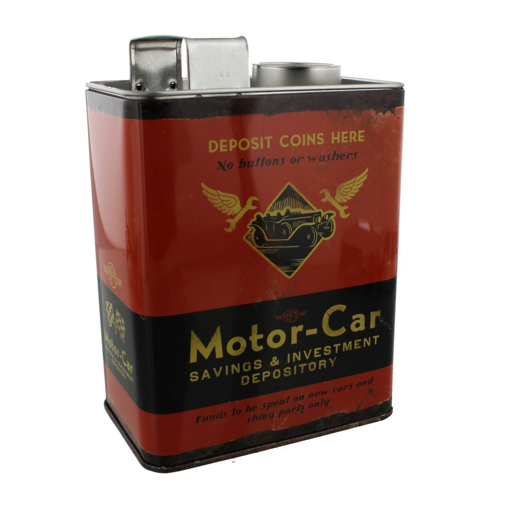 Mph Money Box Motor-car Savings & Investment Sparkle Gift