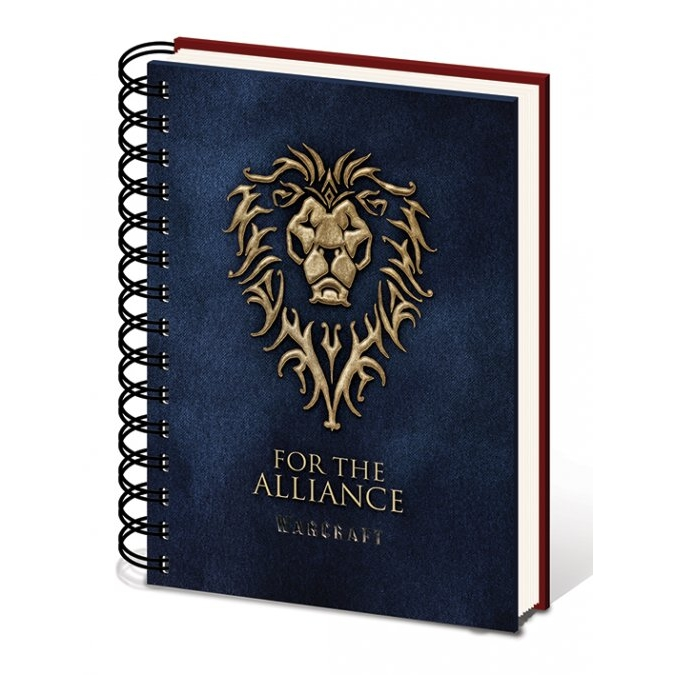Warcraft A5 Notebook Choose A Side Sparkle Gift