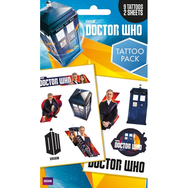 Doctor Who Tattoo Pack Sparkle Gift
