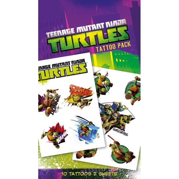 Turtles Tattoo Pack Shellheads Sparkle Gift