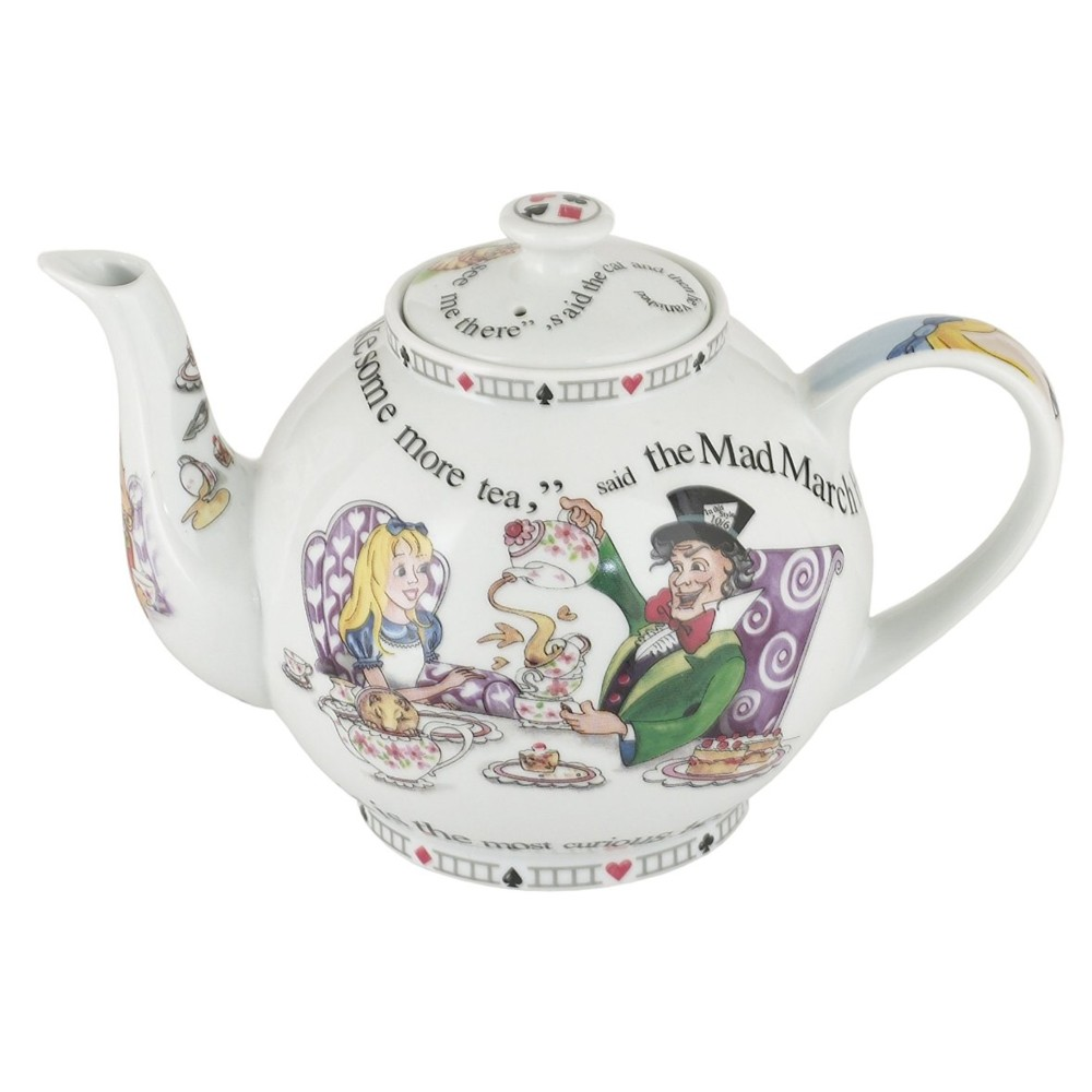 Alice 4 Cup Teapot Sparkle Gift
