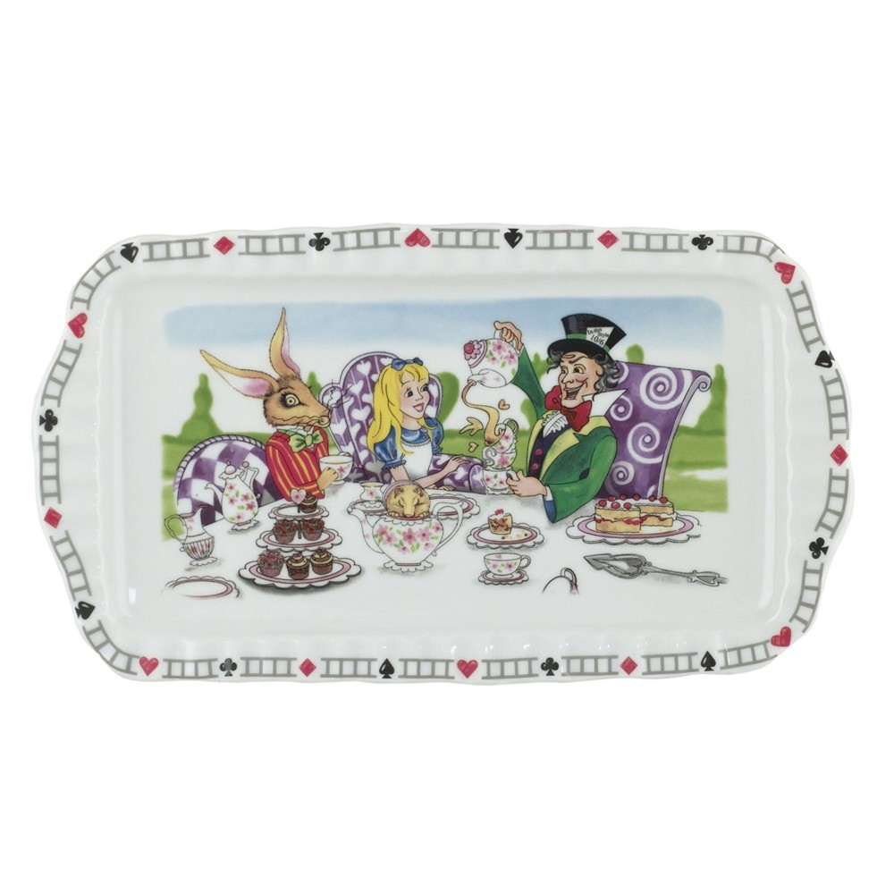 Alice Rectangular Tray 12 X 6 Inch Sparkle Gift