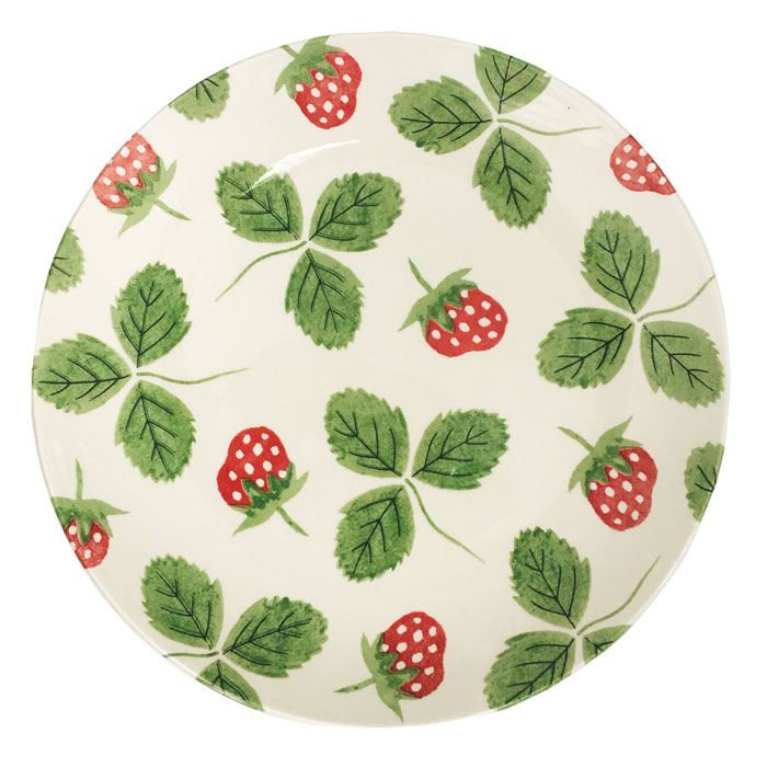 Strawberry Serving Plate Hinchcliffe Barber Pack6            Sparkle Gift