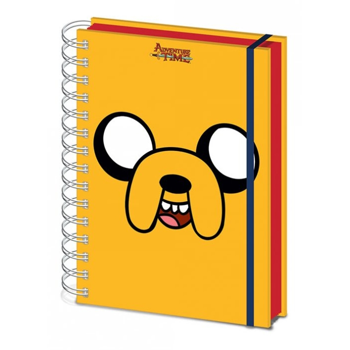 Adventure Time A5 Notebook Jake Sparkle Gift