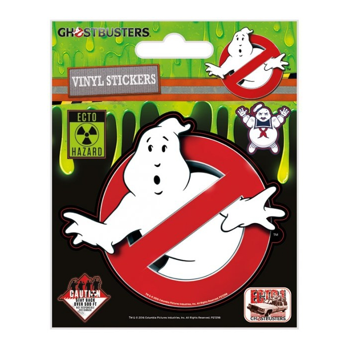 Ghostbusters Stickers Logo Sparkle Gift