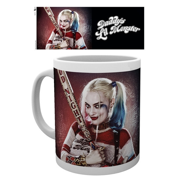 Suicide Squad Boxed Mug Harley Quinn Sparkle Gift