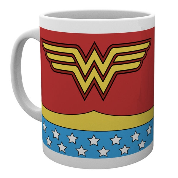 Wonder Woman Boxed Mug Costume Sparkle Gift