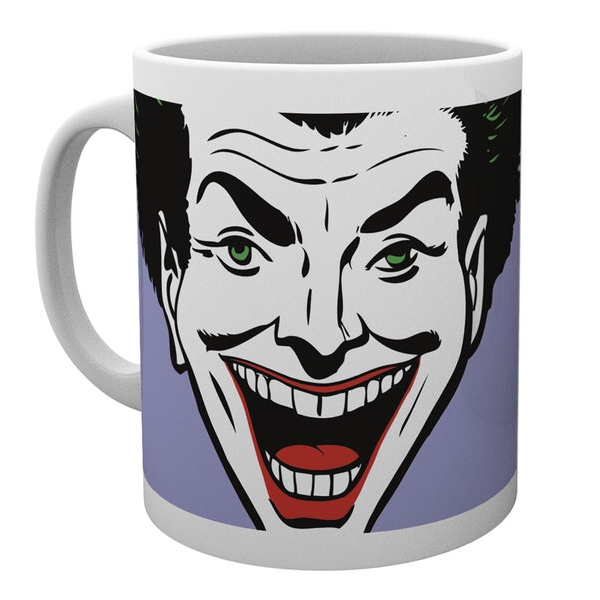 Dc Comics Boxed Mug Joker Close Up Sparkle Gift