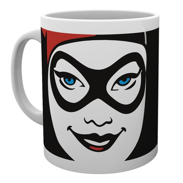 Dc Comics Boxed Mug Harley Quinn Close Up Sparkle Gift