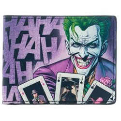 Dc Comics Wallet The Joker Ha Ha Ha Sparkle Gift