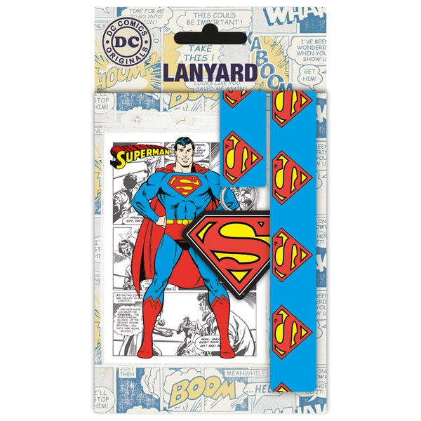 Superman Lanyard Sparkle Gift