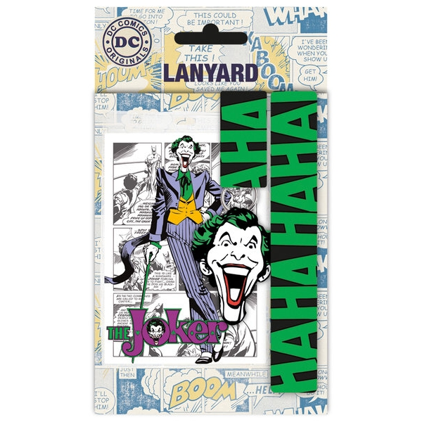 Dc Comics Lanyard The Joker Sparkle Gift