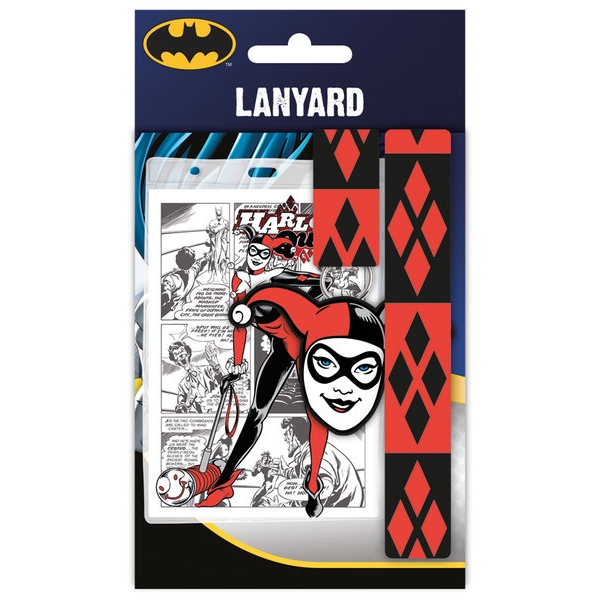 Dc Comics Lanyard Harley Quinn                               Sparkle Gift
