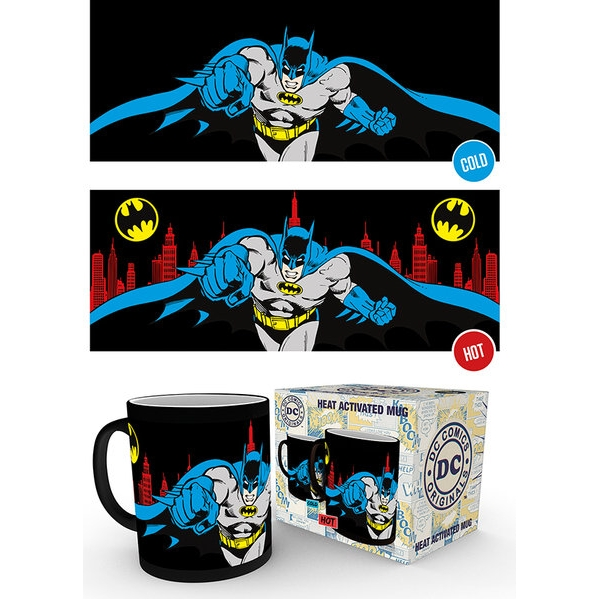 Batman Heat Change Mug Sparkle Gift